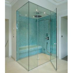 Bathroom Glass Partition Hyderabad With Images Install Glass