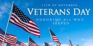 Veterans Day Formerly Known As Armistice Day Was Originally Set
