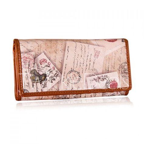 Sloth Women Wallet Female Coin Purse Phone Clutch Pouch Girl Cash Bag Leather Card Change Holder Organizer Storage Key Hold Elegant Handbag For Party Birthday Gift