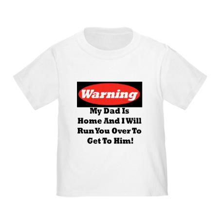 warning daddy T-Shirt
