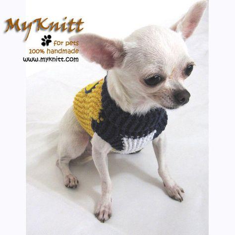 West Coast Eagles Dog Costume Cat Clothing Pets By Myknitt On Etsy
