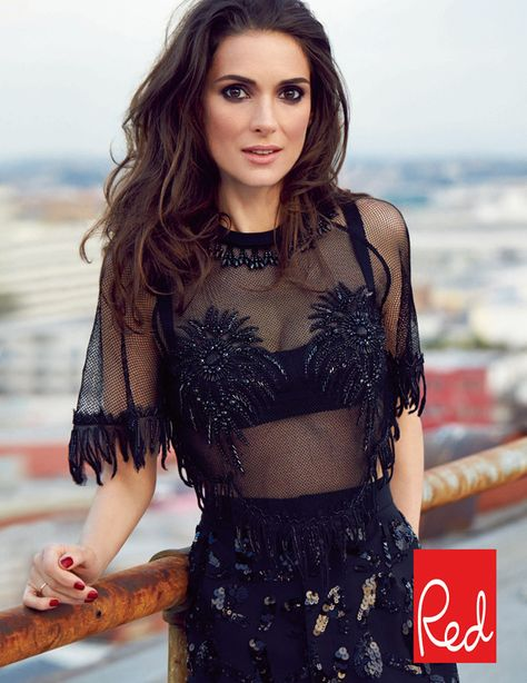 I don't care what people say about you- you're beautiful Winona Ryder( Red March 2014)