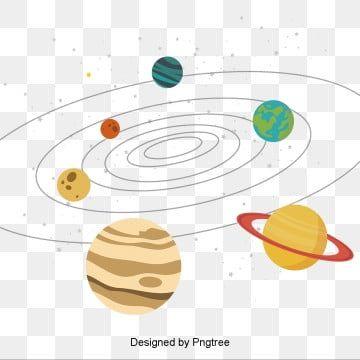 الكواكب الكرتون النظام الشمسي مع النجوم النظام الشمسي Clipart شمسي النظام Png والمتجهات للتحميل مجانا Solar System Clipart Solar System Planet Vector