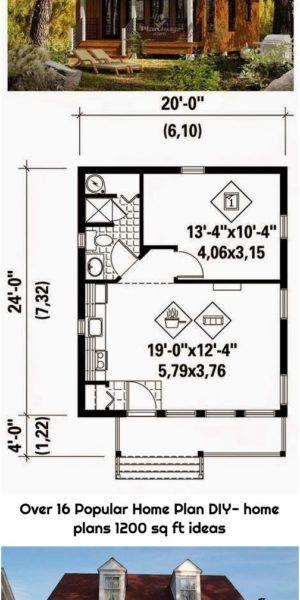 Over 16 Popular Home Plan Diy Home Plans 1200 Sq Ft Ideas In 2020 Diy House Plans House Plans Home Diy
