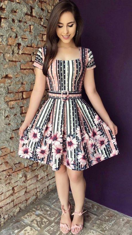 Modelos De Vestidos De Moda 2019 En 2019 Vestidos De Moda