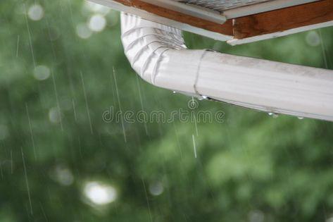 Gutter Tears Rain Over Gutter Ad Tears Gutter Gutter Rain Ad With Images Stock Photos Photo Gutter