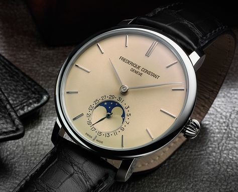 Frederique Constant Slimline Moonphase Manufacture Watch Watch Releases
