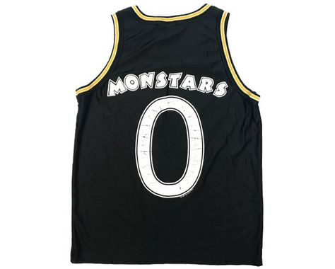 19d1b7742fc Vintage Monstars Jersey Space Jam Tune Squad 90s Basketball Authentic