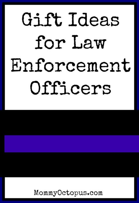 Christmas Gift Ideas for Law Enforcement Officers