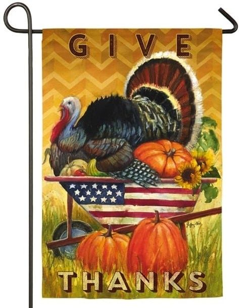 Pin On Thanksgiving House Flags And Garden Flags