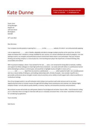 sales assistant cover letter 7 | 1 | Cover letter for resume, Cover ...