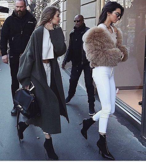 Gigi Hadid & Kendall Jenner Street Style & More Details