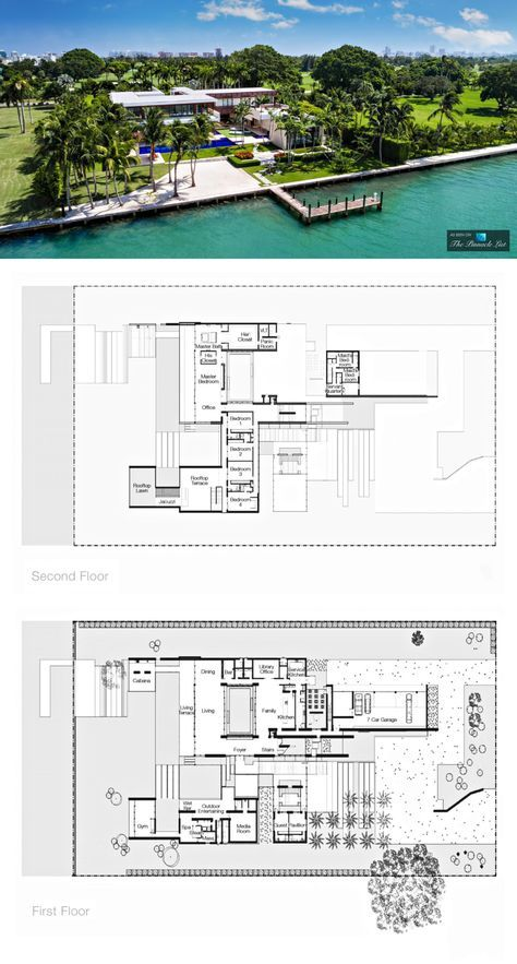 Pano 3 Indian Creek Island Luxury Estate Miami Beach Fl Usa Architectural Design House Plans Mansion Plans Modern House Plans