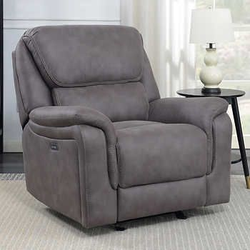Fabulous Gates Fabric Power Glider Recliner In 2019 Recliner Gamerscity Chair Design For Home Gamerscityorg