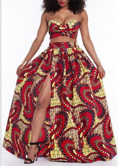 ea7f0a1d27667 2piece in 2019 | African fashion | Traditional african clothing ...