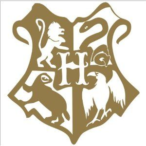 Hogwarts Logo Symbol Meaning History Evolution Hogwarts Symbols Wall Art