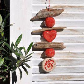 Gartendeko Keramik Und Schwemmholz Topferarbeiten Keramik Geschenke Selbstgemachte Geschenke Zu Weihnachten