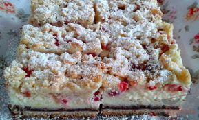 Quark Johannisbeer Kuchen Mit Nussen Und Zimt Bestreut Top Rezepte De Rezept Lebensmittel Essen Kuchen Und Torten Dessert Ideen