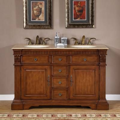 Teme 55 Double Bathroom Vanity Set Cheap Bathroom Vanities