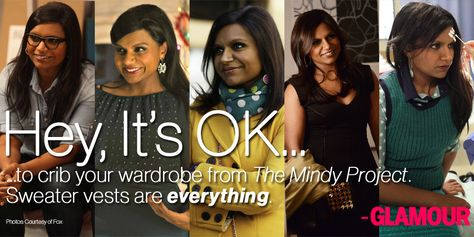 Mindy has the cutest style. #HeyItsOK