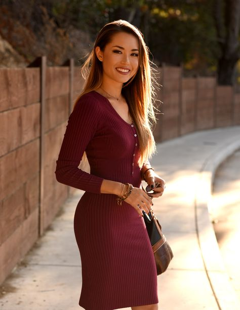 564baea895d4 Hapa Time - a California fashion blog by Jessica  Better in Burgundy ...