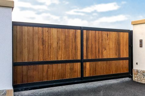Wooden Driveway Gates Driveway Gate Wood Gates Driveway Metal