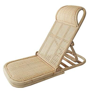 Strange Folding Beach Chair Portable Wicker Beach Lawn Floor Gmtry Best Dining Table And Chair Ideas Images Gmtryco