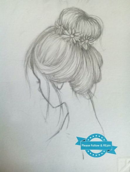 Trendy Hair Drawing Hairstyles Messy Buns 25 Ideas How To Draw Hair Hair Sketch Trendy Hairstyles