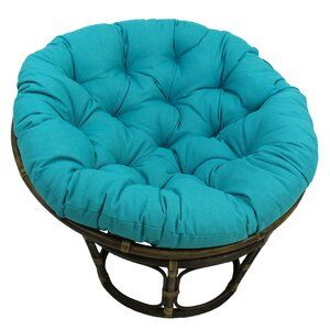 Olu Patio Daybed With Cushions Patio Chair Cushions Papasan