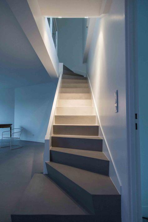 Habillage escalier béton sur mesure, marches, rampes du0027escaliers