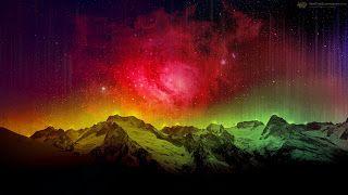 افضل خلفيات للكمبيوتر ويندوز 10 Best Wallpapers Windows Aurora Sky Aurora Borealis Red Sky