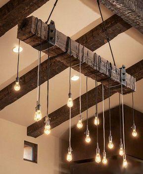 Ideas Geniales Para Iluminar Tu Casa Con Bombillas Decorativas Decoracion De Interiores Moderna Lamparas De Techo Iluminacion Del Hogar