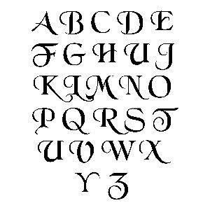 Buchstaben Vorlagen Buchstaben Vorlagen Schablonen 11