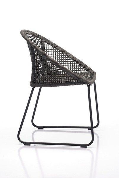 Tom Gartenstuhl Gartenstuhle Stuhle Gartenmobel Grau