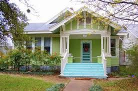 Lime Green Houses Painted Exteriors Google Search Green House