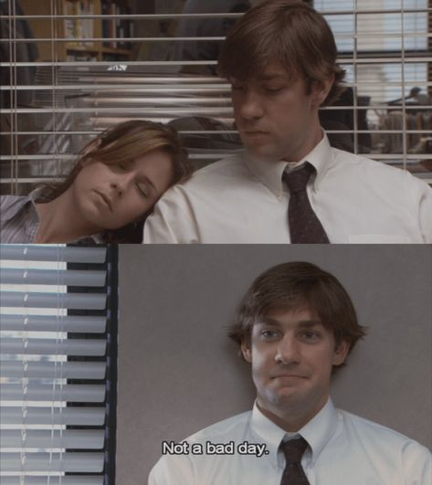 I love the relationship of Jim and Pam from The Office. I recently did a similar post about Nathan and Haley from One Tree Hill and I wanted to do another TV couple that I love and that is the lovely Jim and Pam. The Office Jim, The Office Show, Office Fan, The Office Serie, The Office Love Quotes, Jim Halpert The Office, Best Of The Office, Crush Memes, One Tree