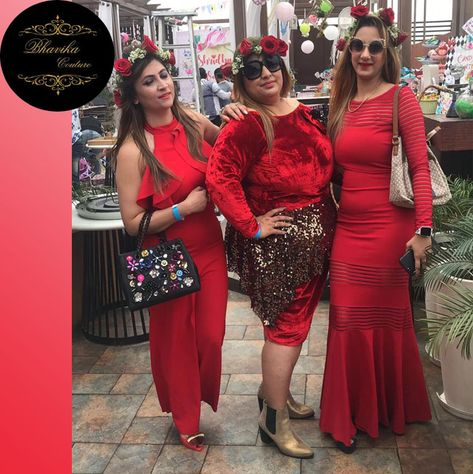 We know you love to make a statement in ReD!Explore the best of stunning DESIGNER wear dressed with BHAVIKA COUTURE and unleash your inner star!😍😍  😍😍😍  For orders and enquires / Contact/ whatsapp on #9818116432 #designerwear #lightweight #lred #reddress #stylewoman #handwork #partylwear #allcolors #bhavikacouture