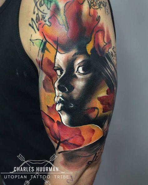 tatuaje Uno de mis últimos trabajos!...
