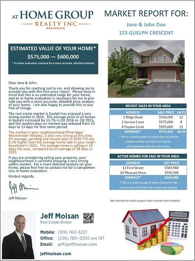 Price Report Template Picture 400px Jeff Moisanjeff Moisan