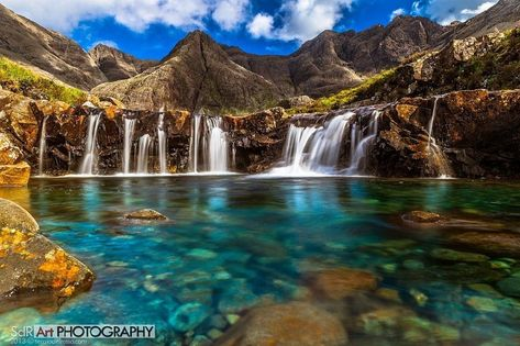 15 Astonishing Little-Known Destinations Worth Traveling To - The Fairy Pools | This gorgeous lagoon is located in the Isle of Skye in Scotland. The water is crystal clear, very cold, and open to anyone brave enough to swim in it.