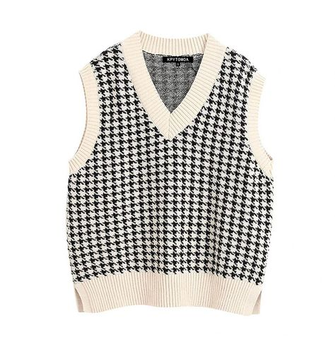 Vest Outfits, Fashion Outfits, Sweater Vest Outfit, Sweater Vests, Fashion Bags, Fashion Fashion, Trendy Outfits, Trendy Fashion, Fashion Women