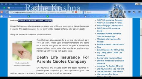 Death Insurance For Parents Quotes Company | Death Life Insurance |  Pinterest