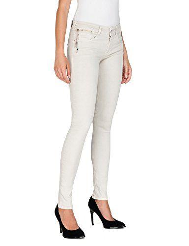 Damen Slim Fit Jeans Hose Röhrenhosen Jeanshose Lang Stretch Treggings Jeggings