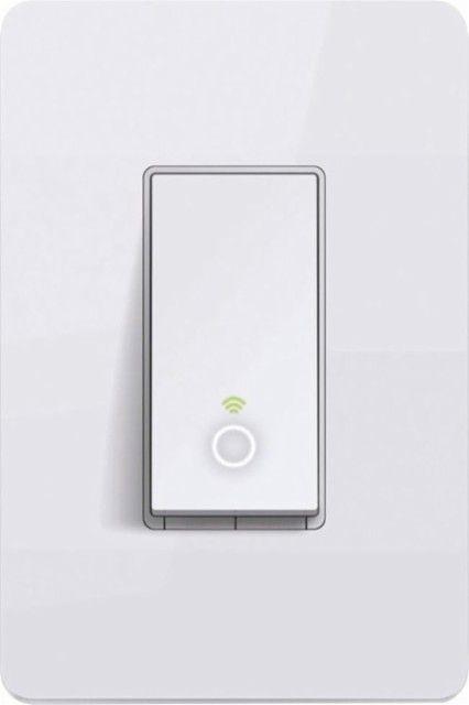 Tp Link Kasa Wi Fi Smart Light Switch White Hs200 Best Buy Smart Lighting Modern Light Switches Light Switch