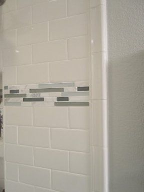Tile Accent Pieces Foter White Subway Tile Bullnose In 2020 Guest Bathroom Bathroom Accents Bathroom Makeover
