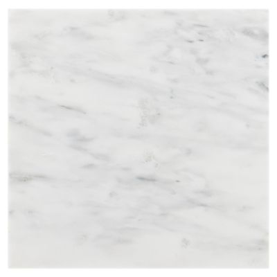 4 99 Sq Ft This 12in X 12in Carrara White Honed Finish Tiles Give Your Room A Natural Look Marble Tiles Honed Marble Marble