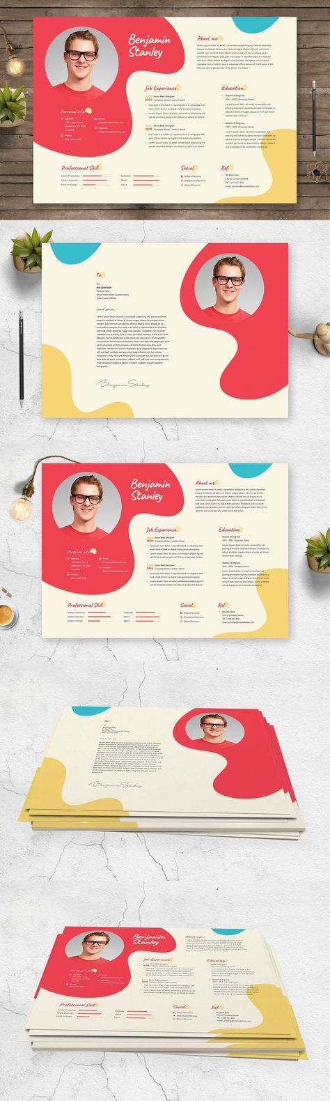 Creative Resume CV Template 42