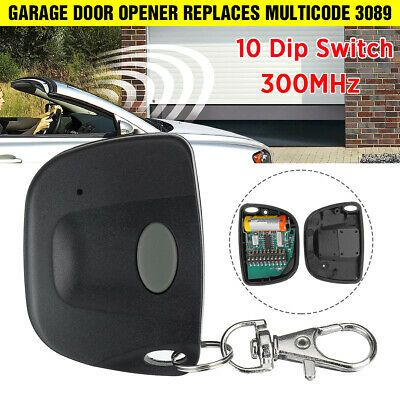 Sponsored For Multicode 3089 Garage Door Opener Or Gate Opener Mini Remote Transmitter Us In 2020 Garage Door Opener Garage Doors Door Opener