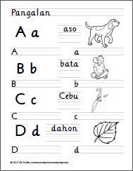 Alpabetong Filipino Handwriting Worksheets Handwriting Worksheets Alphabet Writing Worksheets Writing Practice