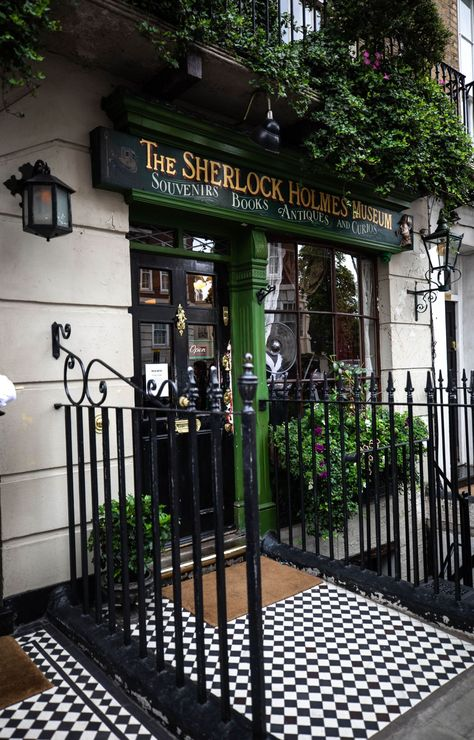 The Sherlock Holmes Museum in London, England United Kingdom Fun Things to Do in London Great Museums in London